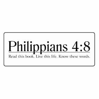 Read the Bible Philippians 4:8 Photo Sculptures