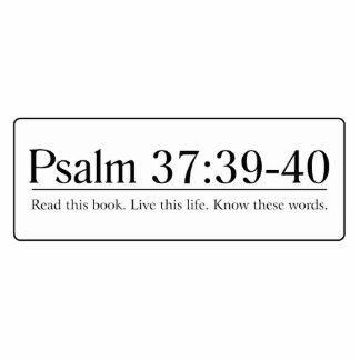 Read the Bible Psalm 37:39-40 Cutout