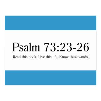 Read the Bible Psalm 73:23-26 Postcard