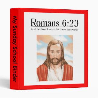 Read the Bible Romans 6:23 3 Ring Binder
