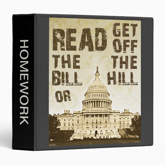 Read The Bill Binder