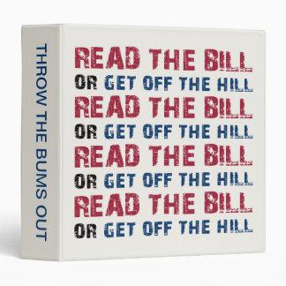 Read The Bill Binder