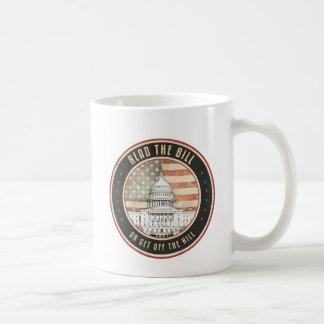Read The Bill Coffee Mug