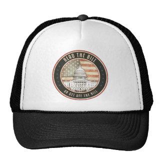 Read The Bill Hats