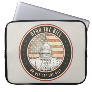 Read The Bill Laptop Computer Sleeves