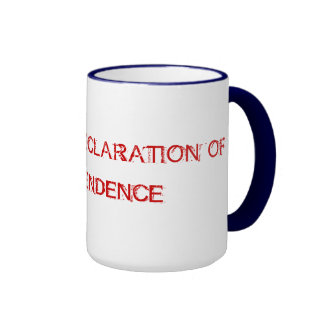 READ THE DECLARATION OF INDEPENDENCE MUGS