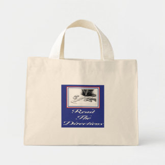 Read The Directions Tote Bag
