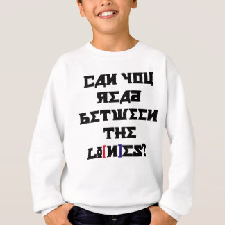 Read the Lines of a Trump Nation Sweatshirt
