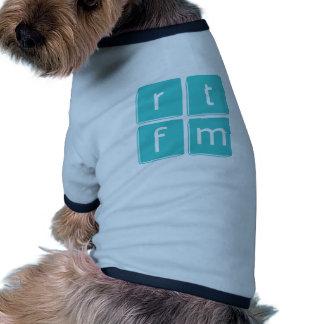Read the Manual Pet Tshirt