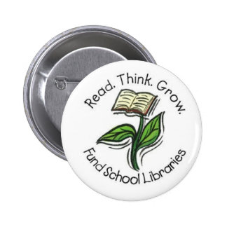 Read Think Grow - Fund School Libraries (Wallace) Button