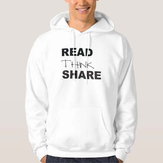 Read Think Share Hoodie