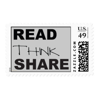 Read Think Share Postage