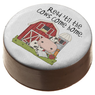Read Til the Cows Come Home Dipped Oreos