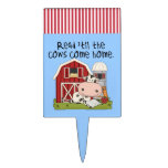 Read 'til The Cows Come Home Rectangle Cake Topper