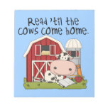 Read 'til The Cows Come Home Scratch Pad