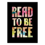 Read to be Free poster