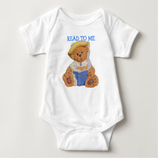 Read To Me Momma Bear and cub T Shirt