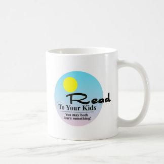 Read To Your Kids Coffee Mug