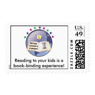 Read to your kids stamp