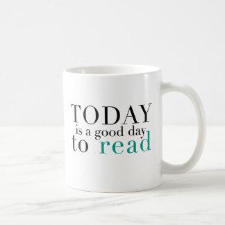 Read today classic white coffee mug