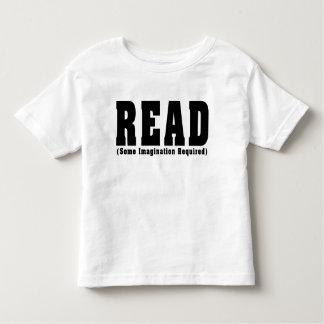 READ TODDLER T-SHIRT
