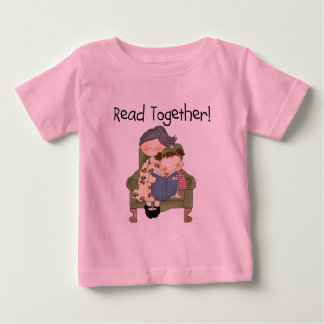 Read Together - Grandma and Girl Tshirts and Gifts