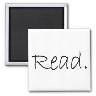 Read (Ver 4) Refrigerator Magnet