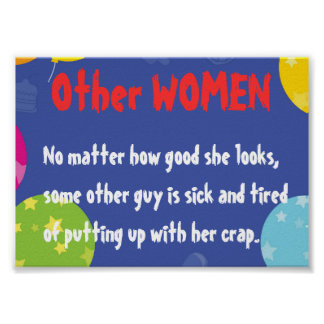 Read what OTHER WOMEN look like Poster