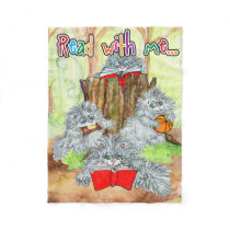 Read with Me Porcupine blanket