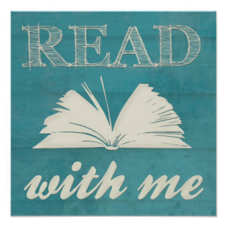 """Read With Me"" Print"