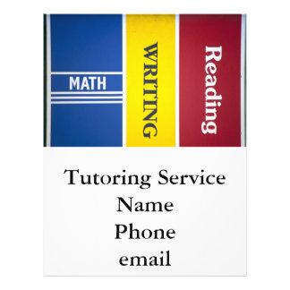 Read write math flyer customizable