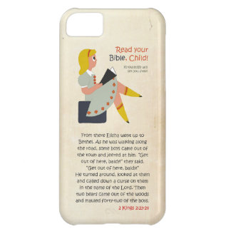 Read Your Bible, Child - Elisha's Story Case For iPhone 5C