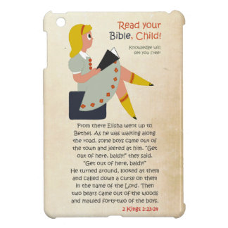 Read Your Bible, Child - Elisha's Story iPad Mini Cases