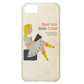 Read Your Bible, Child iPhone 5C Cases