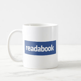 Readabook Classic White Coffee Mug