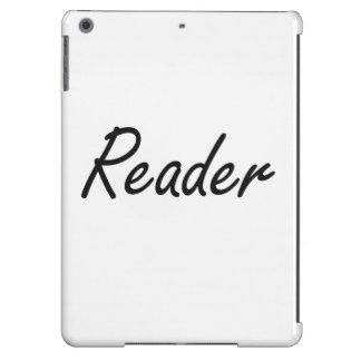 Reader Artistic Job Design iPad Air Covers