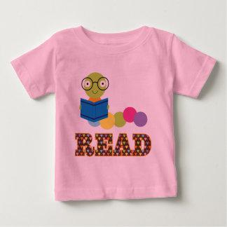 Reader Bookworm Baby T-Shirt