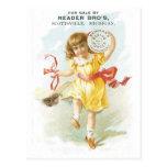 Reader Bros Scottsville, Michigan Postcard