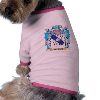Reader Coat of Arms - Family Crest Pet Tee
