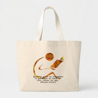 Reader Golden Bag
