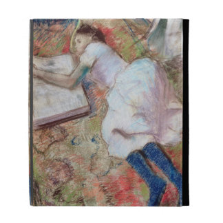 Reader Lying Down, c.1889 (pastel on paper) iPad Folio Cover