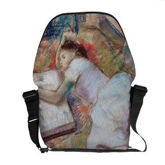 Reader Lying Down, c.1889 (pastel on paper) Messenger Bag