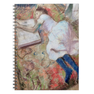 Reader Lying Down, c.1889 (pastel on paper) Journals