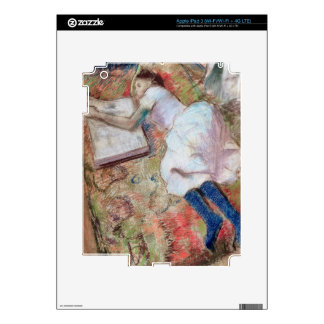 Reader Lying Down, c.1889 (pastel on paper) Skins For iPad 3