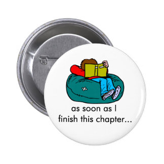 Reader T-shirts and Gifts Pinback Button