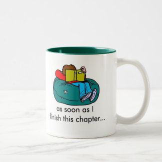 Reader T-shirts and Gifts. Two-Tone Coffee Mug