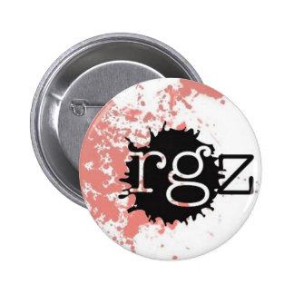 readergirlz button, Lorie Ann Grover Button