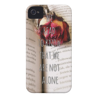 Readers/Book lovers Qoute iPhone 4 Case
