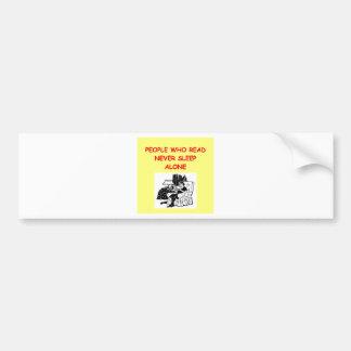 readers bumper sticker