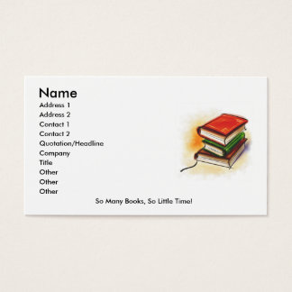 Reader's Card